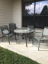 patio furniture in The Woodlands, Texas