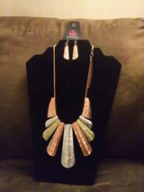 Untamed necklace and earrings set in Jacksonville, Florida