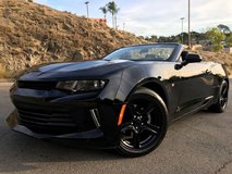 2016 Chevy Camaro Convertible in Fort Irwin, California