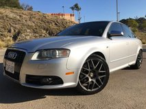 Audi S4 V8 Quattro in Fort Irwin, California
