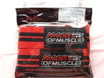 Master of muscle power lifting straps 24 inches in Clarksville, Tennessee