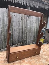 vintage Solid Wood Gun Rack in Baytown, Texas