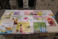 """Body + Soul"" - 10 Magazines - A Martha Stewart Publication in Kingwood, Texas"