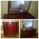 Cherry wood - dresser and Chester drawer. in Macon, Georgia