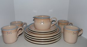 Noritake Arizona Stoneware for 4 ~ Excellent Condition in Conroe, Texas