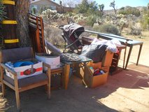 ~~~  Yard Sale Leftovers  ~~~ in Yucca Valley, California