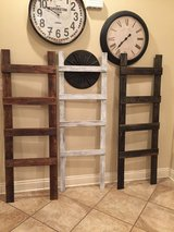 Blanket ladders (solid stained) in Fort Polk, Louisiana