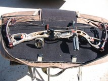 Hoyt Rampage XT Compound Bow with Accessories. in Camp Pendleton, California