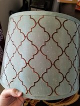 2 turquoise lamp shades in El Paso, Texas