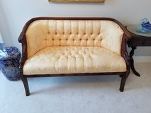 Chinese silk sofa and chairs in Beaufort, South Carolina