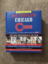 The Complete Chicago Cubs hard-covered book in St. Charles, Illinois