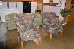 Pair of Hunting theme Chairs in Tacoma, Washington
