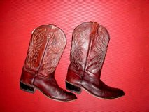 Brown Leather Western Boots - Men's size 10 in Ramstein, Germany