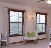 4-Beautiful, Sheer Panels w/ Rings in Naperville, Illinois