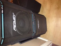 Peavey speakers in Lakenheath, UK