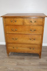 Stunning George III Mahogany Antique Chest Of Drawers in Spring, Texas