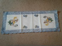 Easter table runner in Fort Irwin, California