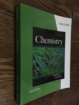 BRAND NEW-Study Guide for Zumdahl/Zumdahl's Chemistry, 9th / Edition 9 in Chicago, Illinois