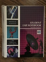 NEW-PHYSICAL SCIENCES STUDENT LAB NOTEBOOK: 70 CARBONLESS DUPLICATE By Hayden-mcneil in Naperville, Illinois