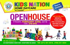 Home Daycare in Quantico, Virginia