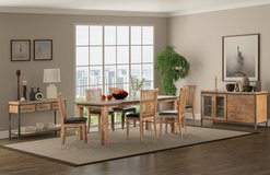 INDUS - Dining Set - New Model - price includes delivery - see VERY IMPORTANT below in Ansbach, Germany
