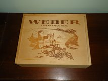 wood wine box in Oswego, Illinois