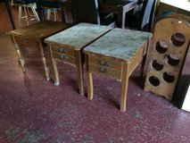 (2) Matching Antique End Tables in Leesville, Louisiana