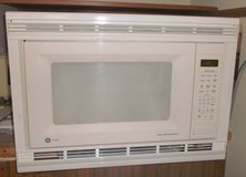 White Over-Range Microwave, Also a Chrome One. in Conroe, Texas