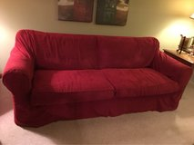 Bassett couch with slipcover in Naperville, Illinois