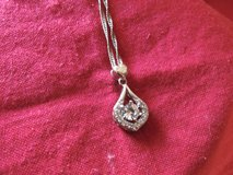 White  Gold and CZ Necklace in Fort Polk, Louisiana