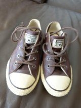 Leather Kids Converse Chucks All Star US size 1,5 - EUR 33  good condition! in Spangdahlem, Germany