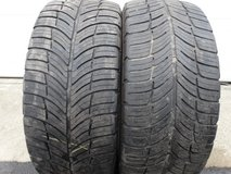 2 - Used 235/50ZR18 BF Goodrich G Force Com-2 Tires in Westmont, Illinois