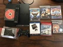 PS3 with 2 controller ( 1 new in box ) plus 5 games in Travis AFB, California