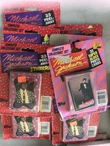 Vintage Michael Jackson trading cards and stickers in the package in Alamogordo, New Mexico