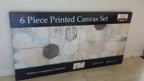 New!  6 pc Printed Canvas Set in Naperville, Illinois