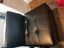 Black soft leather chair in Hopkinsville, Kentucky