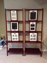 2 Leaning Wall Shelves with Picture Frames in St. Charles, Illinois