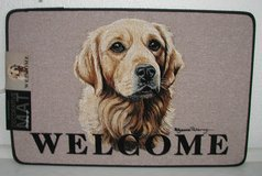 Golden Retriever Door Mat in Ramstein, Germany