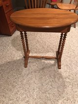 antique table in Chicago, Illinois