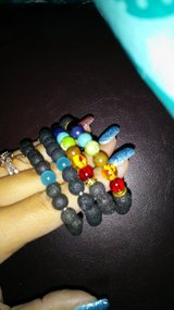 Lava rock beaded bracelets in Fort Campbell, Kentucky