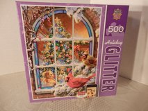 "Sealed 500 Pc. Puzzle ""Home For The Holidays"" in Naperville, Illinois"