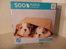 "Sealed 500 pc. Puzzle ""Paper Bag Pups"" in Naperville, Illinois"