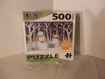 "Sealed 500 Pc Puzzle.  ""Birds & Snowmen"" in Naperville, Illinois"