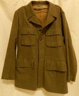 Vintage 1940 100 military Dutch Jacket-Wool? in Yucca Valley, California