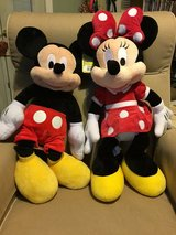 Minnie  &  Mickey  Mouse Plush  Toys in Fort Campbell, Kentucky