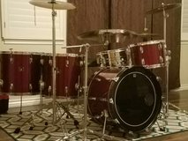 Tama Drumset Complete with New Zildjian Custom A Cymbals in Fort Irwin, California
