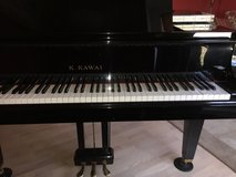 Kawai Baby Grand Piano GM-10 Ebony Polish W/Bench in Elgin, Illinois