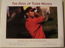 1998 THE SOUL OF TIGER WOODS HARD COVER WITH DJ, TEXT & COLOR PHOTOS in Las Vegas, Nevada