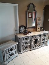 Large Rustic Dresser and Night Stand in Baytown, Texas
