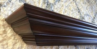 Solid Cherry Floating Shelf 6 foot, new in box in Chicago, Illinois